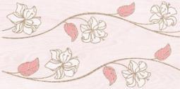 Декор Нефрит-керамика Суздаль 04-04-1-08-03-41-021-0 40x20 Розовый