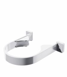 Хомут водосточной трубы Технониколь (Verat) Белый (125х82 мм)