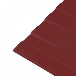 Профнастил С-8 (RAL 3005) красное вино 1200х2000х0.45