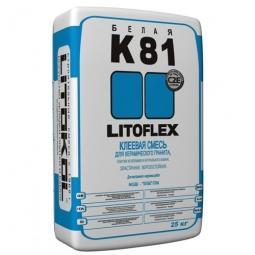 Клей Litokol LITOFLEX K81 морозостойкий для керамогранита, плитки из керамики и натурального камня 25 кг