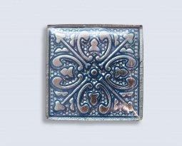Декор Орнамент Универсальные вставки для пола Касабланка Grey 2 6.7x6.7