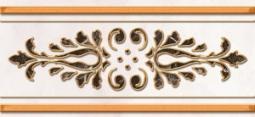 Бордюр Нефрит-керамика Пастораль 05-01-1-93-03-06-460-0 25x11.5 Бежевый