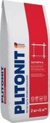 Затирка Plitonit Colorit Premium для швов до 15 мм усиленная армирующими волокнами синяя 2кг