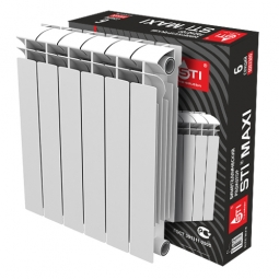 Радиатор биметаллический Sti MAXI 500-100 6 секц.