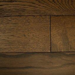 Массивная доска Antique Дуб Мокачино Структур 18х125х300-1200 Ф1,0х4 лак