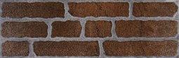 Плитка для стен Сокол Кремль KS-3-2 коричневая полуматовая 12х36.5