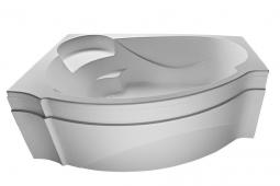 Ванна Eurolux Александрия акриловая с каркасом левая 170х110х45