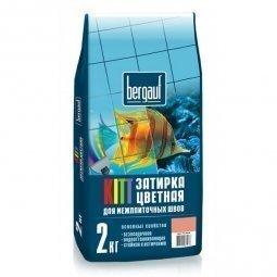 Затирка Bergauf Kitt на цементной основе для швов до 5 мм карамель (2кг)