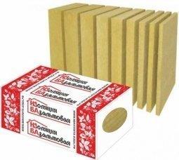Базальтовый утеплитель ИЗБА Кровля Низ 110кг/м3 1000x600x100 3 шт.