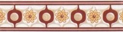 Бордюр ВКЗ Тавола В2  «Тавола» universal бордовая 25x6.5