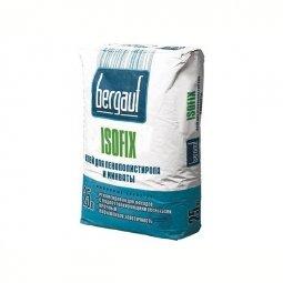 Клеевая смесь Bergauf Isofix для крепления пенополистерольных и минераловатных плит 25кг
