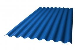 Шифер кровельный 7-волновой 1750х980х5.2мм, синий