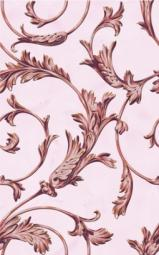 Вставка Golden Tile Виолла розовый 025301 250х400