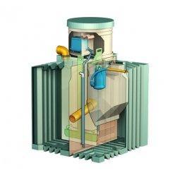 Септик Тритон Пластик Биотанк Элит 3 с насосом