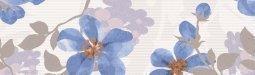 Бордюр Lasselsberger Натали голубой 25x7,5