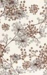 Декор Cracia Ceramica Африка Коричневый 03 25x40
