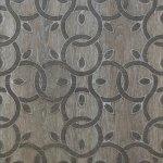 Декор Lasselsberger Энигма напольный тёмный 45х45