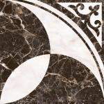 Плитка для пола Нефрит-керамика Пастораль 01-10-1-16-01-04-460 38.5x38.5 Чёрный