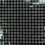 Мозаика Bonаparte Simple Black (на бумаге) черная матовая 32.7х32.7
